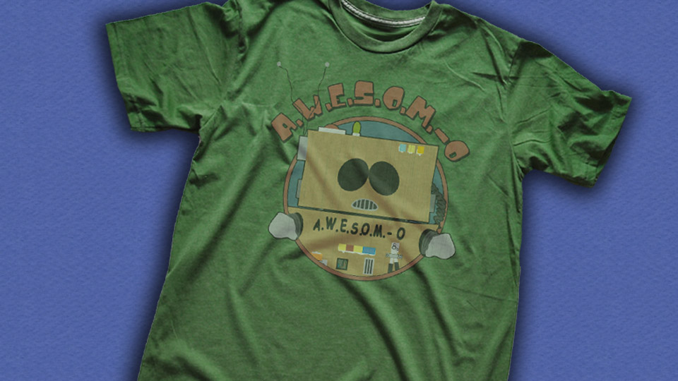 AWESOM-O T-Shirt