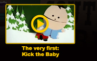 The very first: Kick the Baby