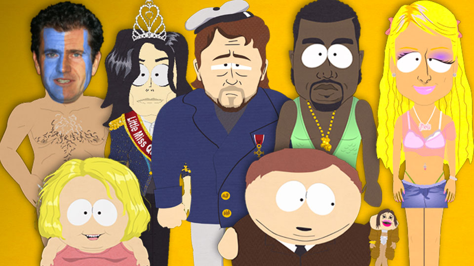 CELEBRITIES IN SOUTH PARK